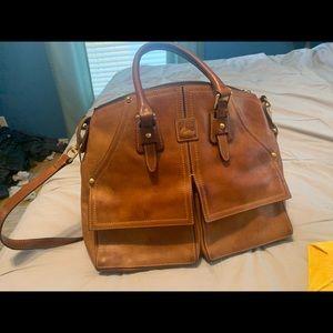 Dooney & Burke Italian leather purse